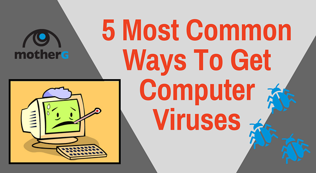 5 Most Common Ways To Get Computer Viruses